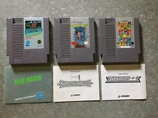 Lot Of 3-Nintendo NES Video Games  Castlevania II: Simon's Quest With Manuals