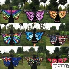 Fabric Soft Butterfly Wings Shawl Fairy Ladies Nymph Pixie Costume Accessory