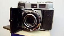 Kodak Retina 1B 35mm film Camera+Case EXCELLENT!! Schneider 50mm 2.8 lens!