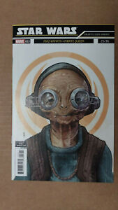 STAR WARS #53  1st Printing - Galactic Icons Variant Cover  / 2018 Marvel Comics