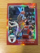 1996 Stadium Club #24 Michael Jordan Finest Rookie 1984 Star Reprint Refractor