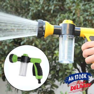 Washing Nozzle Plants For Pet Hose With 8mode Garden Car Water Foam Sprayer