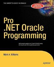 PRO. NET ORACLE PROGRAMMING - NEW PRE-LOADED AUDIO PLAYER BOOK