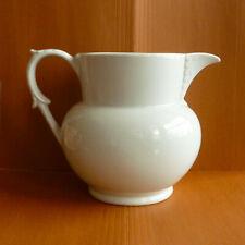 Brazilian white ceramic pitcher/jug (used)