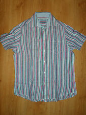 MENS MARKS AND SPENCER LINEN SHIRT SIZE S