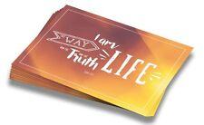 """Postkarten Grußkarten Einladungskarten """"The Life"""" (10 Stück)   mit Bibelvers"""