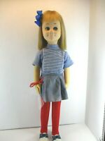 "Vintage 1960's Charmin Chatty Cathy Doll Vintage Mattel doll 25"" plus outfit"