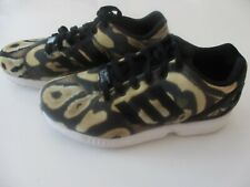 Adidas Zx Flux Torsion Snake Print Ladies Trainers -Size 5-VGC -Worn Twice