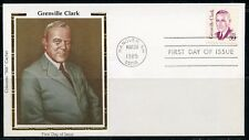 UNITED STATES COLORANO 1985 GREENVILLE CLARK  FIRST DAY COVER