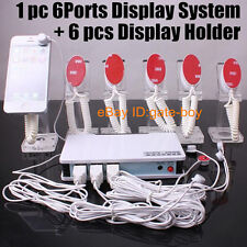 6ports Alarm System For Cell Phone Security Display Host Mobile Master stand A36