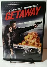 Getaway (DVD, 2013) Used Once - Free Shipping - Ethan Hawke - Selena Gomez