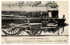 Railway Postcard P03105 : Carte Postale : Locomotives Françaises (P-L-M/Orléans