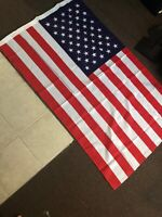American Flag Nylon 3 X 5 ft. with Embroidered Stars (Large)