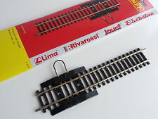 Jouef / Hornby maillechort rail droit à 2 coupures 168 mm ref R618 HO 1/87 eme