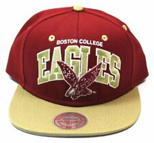 Casquette Mitchell & Ness Boston College Eagles Snapback Cap NEUF American Footb