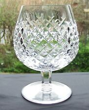 Lovely Waterford Alana Cut Crystal Brandy Snifter Glasses
