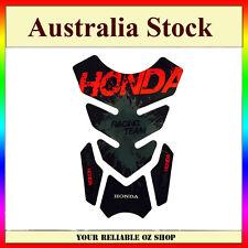 HONDA RED RACING TEAM GAS FUEL PETROL TANK PAD PROTECTOR MOTOCROSS MOTOR BIKE