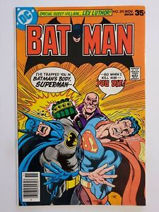 BATMAN #293 (VF) 1977 LEX LUTHOR, SUPERMAN COVER & APPEARANCE; BRONZE AGE DC