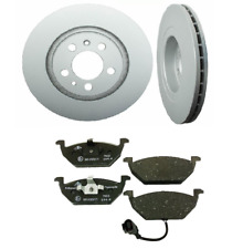 2 Pack ATE Front Brakes Disc Rotors Brake Pad Set Kit for Volkswagen VW Beetle