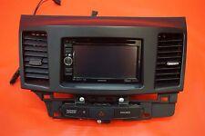 08-15 Mitsubishi Lancer Evolution X Kenwood CD Player Radio AUX IPOD XM Ralliart