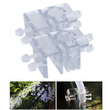 1/2pcs Acrylic Pipe Holder Fix Bracket Hook Aquarium Lily Pipe filter AccessYRDE