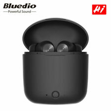 Bluedio Hi Hurricane Bluetooth Earbuds Headset with Charging Box - Black