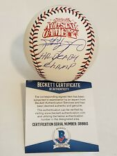 Sammy Sosa Signed OMLB 2000 All Star Game Baseball Insc Beckett COA