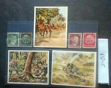 GERMAN WW2, THIRD REICH , CIGARETTE CARDS STAMPS, DAS HEER, ,1933/45.