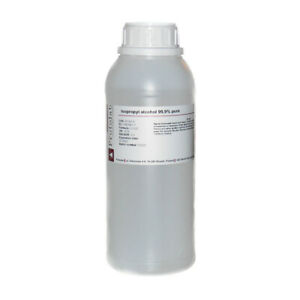 Isopropyl Alcohol 5 LITRE, IPA 99.9% 5L (5 x 1L), Pure Lab Grade