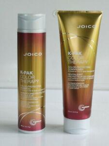 JOICO K-PAK COLOR THERAPY SHAMPOO, CONDITIONER DUO-preserve color-repair damage