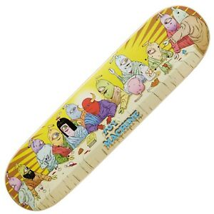 """Toy Machine Last supper 8"""" FREE GRIP TAPE + FIXINGS"""