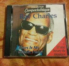 CD - RAY CHARLES - Blues is my middle name - 26 songs