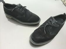 Dr Martens 1461 black suede Norse project shoes UK 7 EU 41 Made in England