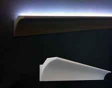 10 CORNICI IN POLISTIROLO TAGLIATE 100 x 100 x 1000 MM NEGOZI CORNICE PER LED