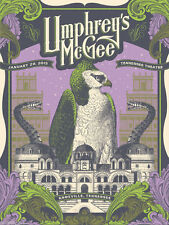 2015 Umphrey's McGee Knoxville Concert Poster Justin Helton Um not sperry phish