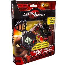 New Sealed SPY GEAR Field Agent Spy Watch 8 Spy Features Real Working Watch