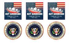 Buy American decal / sticker 6pc. set