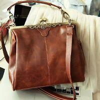 Women Fashion Handbag Shoulder Bag Tote Purse PU Leather Messenger Bag MA