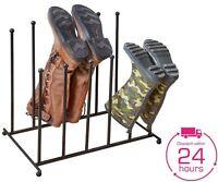 Boot Dryer Shoe Rack wellington Boot Hanger wellies welly Holder 4-6 pairs VAR1