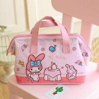 Cute My Melody Lunch Box Bag Storage Bag Handbag Insulation Picnic Bag Tote