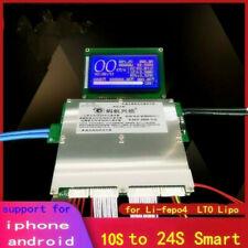 Smart Lithium Battery Protection Board Balance BMS Lipo lifepo4 LTO 10S 21S 24S