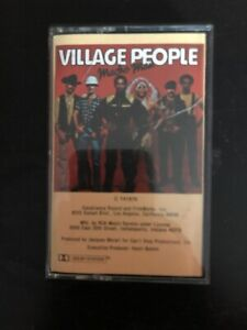 Cassette Village People Macho Man Tape Vintage Rare Original 1970s Music Promo