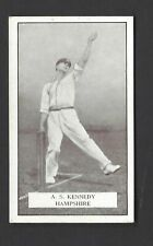 GALLAHER - FAMOUS CRICKETERS - #48 A S KENNEDY, HAMPSHIRE
