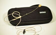 DPA Box with ? Omnidirectional  Headset Microphone Beige w/Adapter for Shure