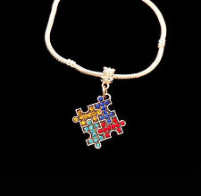 Autism Bracelet Autism Awareness Bracelet Puzzle piece jewelry Autistic speaks