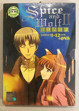ANIME DVD Spice And Wolf II Vol.1-12 End + OVA English Subs + FREE DVD