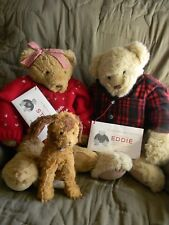 Eddie Bauer Bear Collection ~ EDDIE, STINE & Speed~ LE ~ mint w/ tags & COA
