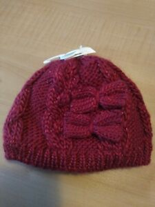 George Red Baby Beany Hat 0-3 Months