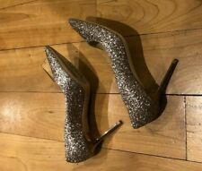 Jimmy Choo shoes, sparkling heels