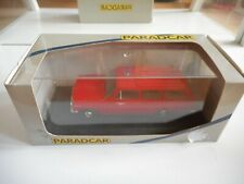 Paradcar Opel Rekord A Pomper / Feuerwhr in Red on 1:43 in Box